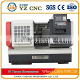 cnc wheel lathe diamond and wheel repair lathe WRC30 up to 30 inch                                                                         Quality Choice