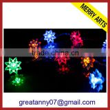Zhejiang wholesale cheap christmas lights led holiday time flower shape christmas lights