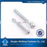 Hot zinc/black plated screw sand washing machine high quality box packed ningbo fastener manufacturers