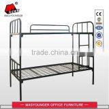 KD structure metal mesh plate school bunk bed                                                                                                         Supplier's Choice