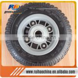 China Supplier With Steel/Plastic Rim Wheel Barrow Tire 8*250-4