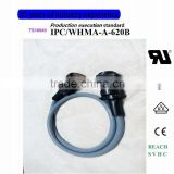 MS3106A-36-3P 6PIN Straight head solder +assembly circular connector The servo wire harness