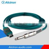 "Alctron UC200 Professional Audio Digital Interface, USB adapter cable, 1/4"" TRS to USB converter"