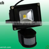 Competitive price Motion sensor 10w led flood