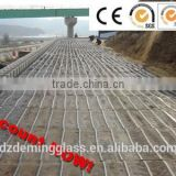 HOT sale 6m fiberglass geogrid for slope protection and road construction
