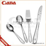 Factory wholesale stainless steel flatware 72pcs cutlery set with wooden case                                                                         Quality Choice