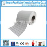 Self adhesive paper roll blank label sticker