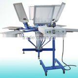 Manual tshirt silk screen printing machine