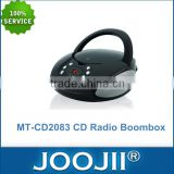 CD Boombox With AM/FM Radio And USB/MP3 player, 2016 Hot Selling Home Radio & CD player