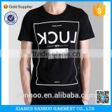 China Direct Price Custom Made in China High Quality Wholesale Black Cotton Tshirt Men                                                                         Quality Choice