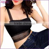 Lace Boob Tube Top China Sports Clothing Manufacturer