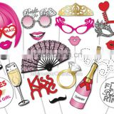 Hen party photo booth props games accessories favors DIY