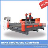 Z 500mm two spindles CNC Carving Marble Granite Stone Machine ZK-1530 1500*3000mm