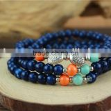 Fashion charming handmade ceramic beads bangle bracelet jewelry                                                                                                         Supplier's Choice