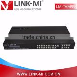 LINK-MI LM-TVM99 9x9 HDMI Seamless switch Matrix , support RS232 comm and control / IP control 3x3 Multi-view Seamless HDMI Mat