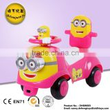 high quality factory direct supply Baby walker cartoon children swing car