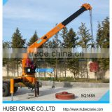 brand new high quality best price 3.2T 5T 6.3T 8T 10T 12T 14T 16T 18T 20T telescopic boom truck loader cranes