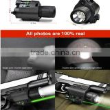 Green Laser Sight Compact&Tactical Flashlight Combo Weaver Picatinny Rail Mount,cree led tactical flashlight kit