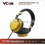 2015 Metal Shell Super Bass Headphone DJ Pro for Music with Factory Price