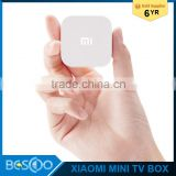 Xiaomi Smart Mini Box Set Top Box MT8685 Quad Core 1GB DDR3 4GB eMMC Android 4.4 1920*1080P H.265 2.4GHz / 5GHz Mi Small TV Box
