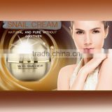 OEM acne removal Snail moisturizing cream with collagen and sodium hyaluronate