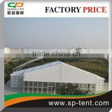 Big outdoor warehouse tent with strong ABS panel solid wall tent 35x75m