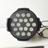 Signal Power Wire RGBW 200W indoor disco lighting Low Price 18pcsx10w 4in1 LED Par Light