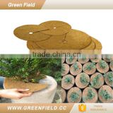 Green Field coconut mat fiber disc weed mat