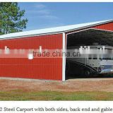 china made ISO certified garage shed designs/ steel garage buildings /portable garage for car