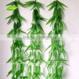 GNW FLV20 China factory wholesale Artificial Willow Leaves Vine Garland Silk Material for Bedroom Decoration