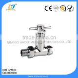 Automatic thermostatic valve heating radiator