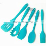 SP-6596 Promotion Gift China Factory 5 Piece silicone utensil
