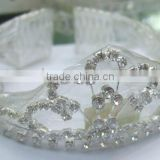 Full Headband Rhinestone bridal wedding Jeweled Hair accessory