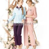 Pajama Sets Silk Pajamas Satin Nightwear Sleepwear Long Sleeve Suit