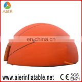 inflatable camping tent for party basketball inflatable dome tent