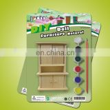 DIY, paint, doll furniture,mini furniture, diy furniture