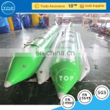 TOPINFLATABLES PVC banana boat with low price, inflatable water equipment for sale