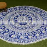 2017 Fashion Bohemian Mandala Round Beach Tapestry Hippie Yoga Mat Towel Indian Roundie