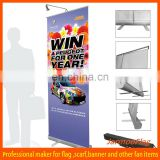custom advertising roll up banner stand
