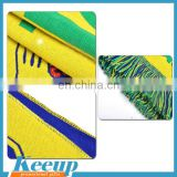 Wholesale Football Sports Scarf Knitted Customize Football Team Scarf