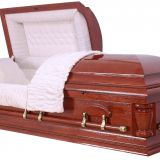 high quality wood casket