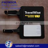 PU luggage tag for travelling, ID recognized tag