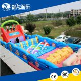 popular sport games adult inflatable obstacle course for adults and kids