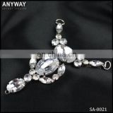 Antique rhinestone shoe ornament wholesale China buckle