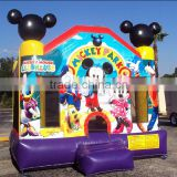 Commercial bounceland mickey mouse inflatable jumping castle