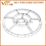 New exhibition concert entertainment aluminum stage curved truss                                                                         Quality Choice