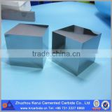 Customized mirror polished tungsten carbide block bright surface with sharp edge, 40mm solid carbide cube                                                                         Quality Choice