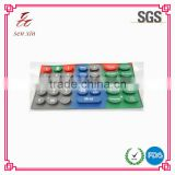 silicone keypad manufacturing company for remote control,custom silicon keypad,high quality silicon button rubber keypad selling