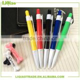 Economical plastic ball pen for advertising promotion especially suitable for office large purchasing