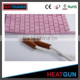 INFRARED CERAMIC HEATING PAD ALUMINA MAT HEATER BULK CERAMIC PLATES CHEAP CERAMIC PLATES